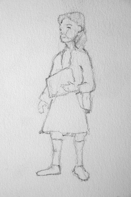 Schoolyard girl